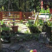 Pender Weekender b&b flower garden