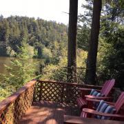 Pender Weekender b&b enjoy peaceful lake view