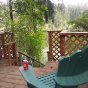 Pender Weekender b&b Stair deck