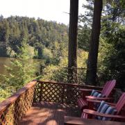 Pender Weekender b&b enjoy peaceful lake view